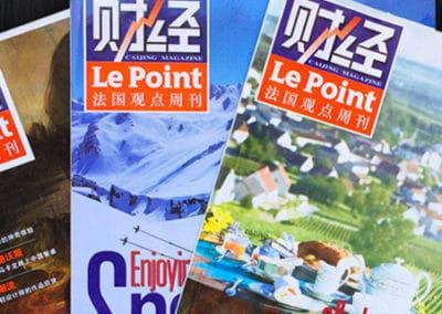 Le Point – Cai Jing